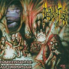 Inbreeding the Anthropophagi by Deeds of Flesh (CD, 2002, Displeased) death