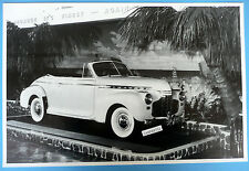 """1941 Chevrolet Special Deluxe Convertible 12 X 18"""" Black & White Picture"""