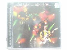 Joe Satriani Eric Johnson Steve Vai G3 Live In Concert 3 CD 2010  RARE INDIA new