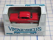 vintage vehicles 1/43 scale ERTL 1957 chevrolet bel air sport coupe die-cast