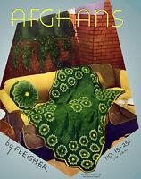 Fleisher's Color Afghan Book #15 c.1932 Vintage Crochet Patterns