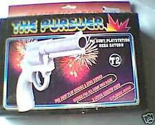 New Saturn & Sony Playstation PSX PS1 Light Gun Original Revolver in box