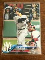 2018 Topps Chrome Baseball Base Card - Aaron Judge - New York Yankees