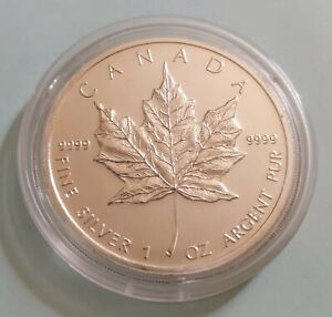 Canada Silver Maple 1oz. 2012