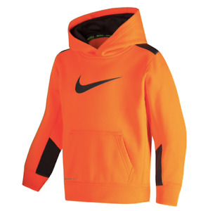 New Nike Boys Therma Fleece Swoosh Pullover Hoodie MSRP $38.00