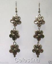 Alloy Drop/Dangle Flowers & Plants Costume Earrings