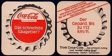 COCA COLA  -  DAS SCHNELLSTE SÄUGETIER  ?  COASTER FROM GERMANY MA15134