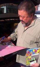 Ai Weiwei libro ORIGINALE FIRMATO SIGNED AUTOGRAPH FIRMA AUTOGRAFO