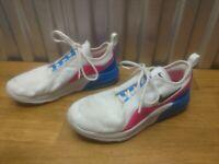 Girls Sz 5Y Nike Air Max Motion 2 Running Shoes 2019 Blue/White/Pink AQ2741-100