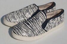 Yellow Box Varden Women's Slip On Loafers, Black & White Women's Size 10M