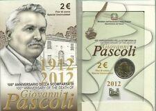 ITALIA 2012: 2 EURO COMMEMORATIVO - 100° ANNIVERSARIO SCOMPARSA GIOVANNI PASCOLI