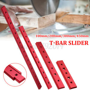 100-600mm Aluminium T-Track T-Slot Miter Jig DIY Table Woodworking Router  N