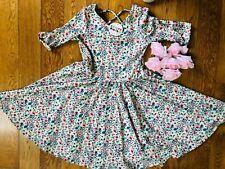 NWT Dot Dot Smile Ballerina Twirly Dress  Girls Printed Floral