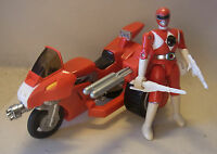 Vtg MMPR Action Figur Tyrannosaurus Rex Battle Bike Power Rangers 1993 BANDAI