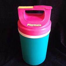 Igloo Playmate Half Gallon Jug Pink Teal Yellow Glamping Camping 1993 Clean