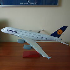 Huge 1/100 Lufthansa Airlines Airbus A380 Travel Agents Airplane Display Model