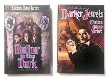 Lot of 2 Chelsea Quinn Yarbro Books Darker Jewels Better in the Dark