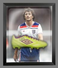 *New* Trevor Francis Signed Green Umbro Football Boot In A Acrylic Dome Frame: D