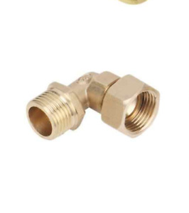 """1/2""""BSP Brass Compression Fitting/Copper Pipe/Plumbing/Elbow/Tee Union Connector"""