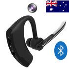 Bluetooth 4.1 Wireless HandsFree Car Kit Headset Music Headphone Voice Earpiece
