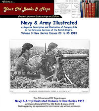 Navy & Army Illustrated Volume III 1915 NEW SERIES - CDROM