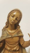 1983 Mary Nativity Fontanini Depose Italy Figures 7.5 scale for Holy Family