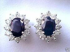 14 Carat White Gold I1 Fine Diamond Earrings