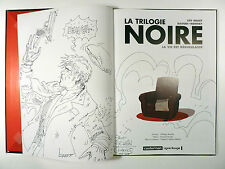 Daoudi DEDICACE Trilogie noire Ed. Casterman EO 2005 Comme neuf