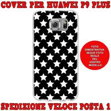 Cover case custodia protettiva in tpu per Huawei P9 PLUS fantas STELLINE BIANCHE