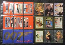 1995-97 JAMES BOND 007 Trading Card Chase/Promo Mixed LOT of 28 NM 9.4
