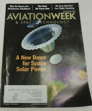 Aviation Week Magazine A New Dawn For Space Solar Power June 2014 071814R