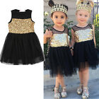 Age 2-7Y Kids Girls Summer Dress Princess Party Lace Tutu Dress Skirts Clothes