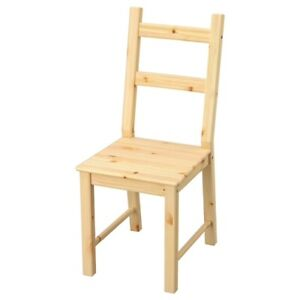 Brand New IKEA IVAR Solid Pine Wooden Chair 902.639.02