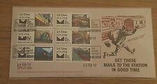 GB Post & Go Mail ferrovia FDC Ltd Edition 300 solo 15.2.17 il museo postale.