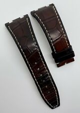 Authentic Audemars Piguet Royal Oak 26mm x 18mm Brown Alligator Watch Strap OEM