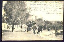 Carte Postale Ecrite en 1905 BANDOL (Var) QUAI du PORT à Mme R.M. de BOISSY