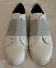 Calvin Klein Baltic Men's Leather Sneakers Slip on Shoes Trainer Size uk 8 eu 42