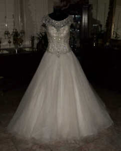 ALLURE BRIDALS STYLE 52853 Bridal Gown Wedding Dress Size 8       R:4742301