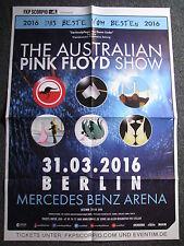 Konzertposter-Pink Floyd The Australian Pink Floyd Show-31.03.2016 Berlin-Poster