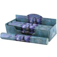 Anne Stokes Mystic Aura Lavender 20 Incense Sticks Hexagonal Gift Pack