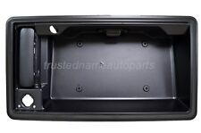 for Ford Van Outside Cargo Door Handle Rear License Plate Holder w Camera Hole