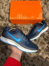 "Nike Air Zoom Pegasus 34 UK 7.5 ""Obsidian/Blue Hero-Gunsmoke"" EU 42"