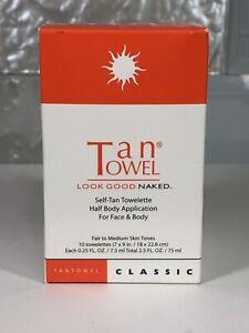 TanTowel Classic Full, Half Body Fair to Medium  Tanning Look Good Naked