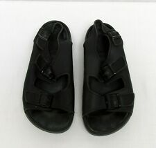 Birkenstocks Sandles Black Leather Back Strap Sandals 40