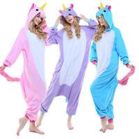 Animal  Cosplay Adult Unicorn Tenma Unisex Pyjamas Kigurumi Costume Sleepwear