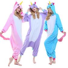 Newcosplay Adult Unicorn Unisex Pyjamas Halloween Onesie1 Costume