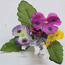 30 SUPERB MULTI HEAD FLOWER COLOURS WIRED PICK>FREEpp>GREAT VALUE>GREAT QUALITY