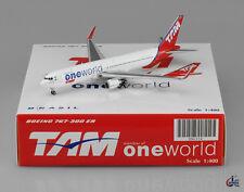 "Tam B767-300  "" One World  "" Scale 1:400 JC Wings Diecast        XX4354"