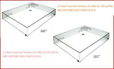 2 x Panasonic Technics SL1200 SL1210 cubierta de polvo se adapta a MK2 M3D MK5 M5G sfad 122-01 A