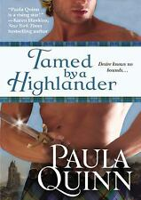 The Children of the Mist: Tamed by a Highlander by Paula Quinn (2011, MP3 CD, Un